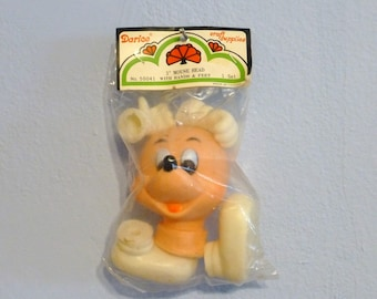 Mouse Head with Hands and Feet Craft Vintage 3 Inches Mickey Style Darice no. 50041