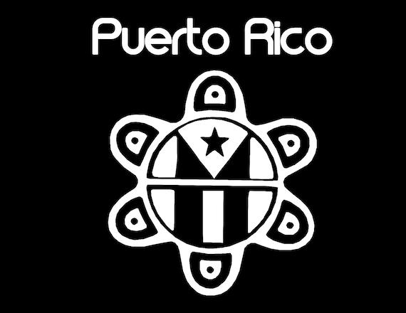 Puerto Rico Sun Taino Decal Boricua Sticker Car Window