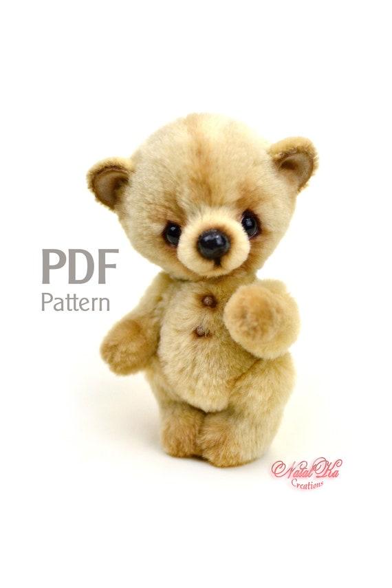 PDF Schnittmuster Teddy Bär Tibo 125 cm digitaler