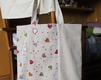 Bag + Hearts Clutch