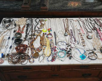 117 Wearable Pieces of Jewelry Bulk