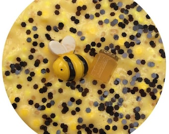 Bumble Bee 8oz slime SCENTED