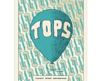 Tops Gig Poster