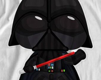 "Star Wars - Anakin ""Darth Vader"" Skywalker - Iron On Transfer"