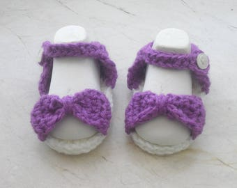 Baby shoes-Baby Sandal-SL 7.5 cm-christening shoes-crawling shoes