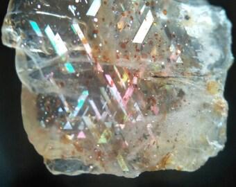Rainbow Lattice Sunstone 1.8cm B610