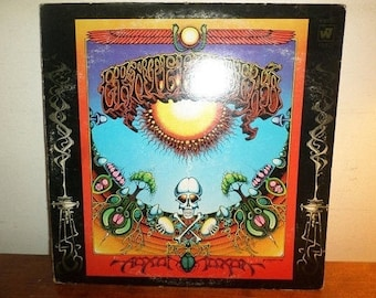 Vintage 1969 Vinyl LP Record Aoxomoxoa The Grateful Dead Original WB Green Label Excellent Condition w/Sticker 12581