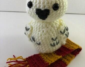 Crochet PATTERN: Snowy Owl