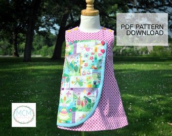 PDF Sewing Pattern for Girls Estherlyn's Jumper MCM Studio Designs