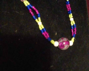Spring Time Fling necklace