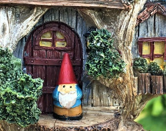 Micro Gnomes Figurines for Your Fairy Garden