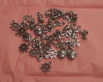 set of 50 charms CCB