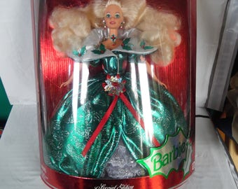 1995 Barbie Doll with Presentation Box Special Edition New in box Green dress