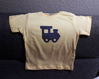 Short sleeve yellow T-shirt for 12/18 months
