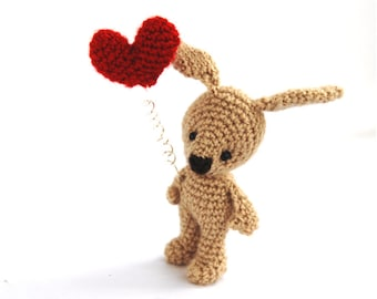 CROCHET BUNNY, rabbit plush doll, stuffed rabbit animal, Easter gift for kids, Easter rabbit, cute bunny, little bunny doll, amigurumi bunny