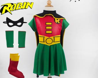 Robin Girl Costume for Kids