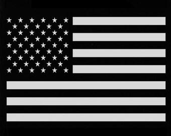 Molon Labe 16oz Laser Engraved Pint Glass - US Flag