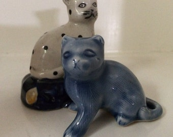 Two Blue Cats