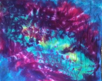 Tie Dye Tiny Tapestry