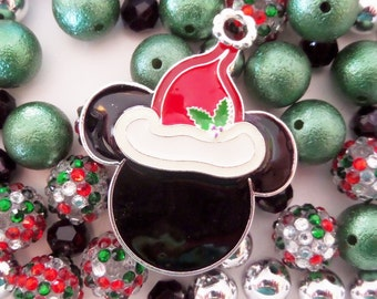 Santa Bead Collection, 10mm beads and larger, K28