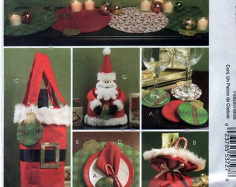 McCalls 5546 Craft Pattern Seasonal Decor