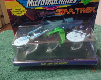 1993 Micro Machines Star Trek The Movies Scale Miniatures by Galoob