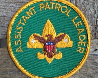 Assistant Patrol Leader Boy Scout Uniform Patch