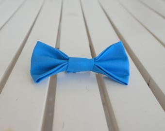 Bow Tie, Blue, Boy, Baby, Dog, Cat Collar, Clip On, Small