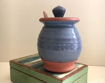 Honey Pot in Cadet Blue