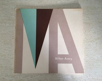Milton Avery 1966 Exhibition Booklet