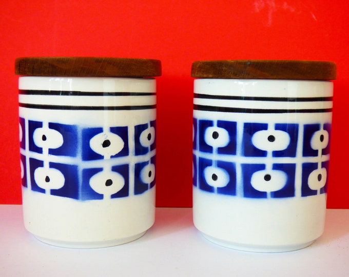 Ceramic Italian storage jars
