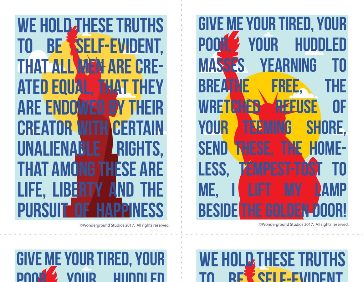Life Liberty And The Pursuit Of Happiness Quote Protest Postcard Lady Liberty Life Liberty