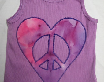 SALE - Peace Heart Baby Top --50% off!