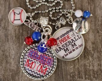 Baseball MOM Key Chain Baseball Mom Jewelry Personalized Baseball Mom Keychain Baseball Mom Keychain Personalized Baseball Jewelry