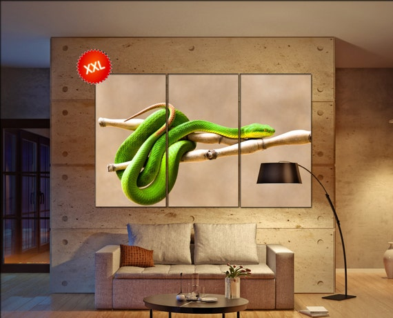 viper snake  canvas wall art viper snake wall decoration viper snake canvas wall art art viper snake large canvas wall art  wall