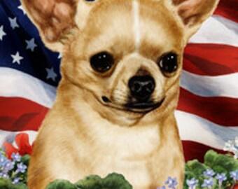 Chihuahua Garden Flags