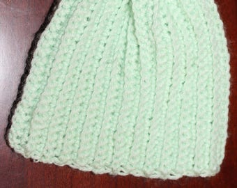 Ribbet Hat for baby from New Born to 3 months - Can make any color