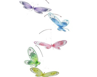 Dragonfly mobile Avery - baby mobile ceiling hanging dragonfly crib mobile baby room decor nursery nursery decoration Clearance Sale