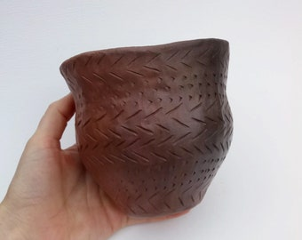 Decorated Early Bronze Age Beaker, Prehistoric Pottery