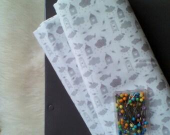 Creation of printed fabric cloud