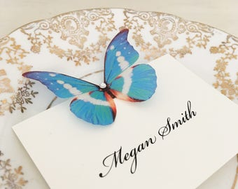 Wedding Place Card Butterfly Place Cards Name Cards Place