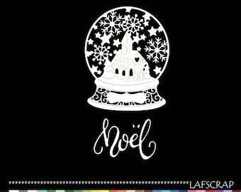 Cuts scrapbooking ball Christmas tree snowflake Word Christmas die cut paper cut Church