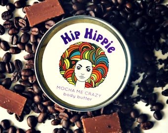 All Natural Body Butter for Dry Skin + Anti-Aging + Organic Cocoa Butter + Aphrodisiac | Mocha Me Crazy