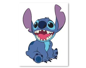 Disney, Lilo and Stitch, Ohana, Family, Saying, Cartoon, Digital, Download, TShirt, Cut File, SVG, Iron on, Transfer