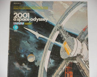 """2001 A Space Odyssey - Music From the Motion Picture Soundtrack - """"Blue Danube"""" - MGM Records 1968 - Vintage Gatefold Vinyl LP Record Album"""