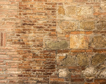 Photoshop Overlay, Brick and Stone Texture, Instant Download, Brown, Brick Clipart, Stock Photo, Digital Download, Banner Clip Art