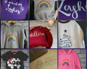 Extra hoodie personalisation