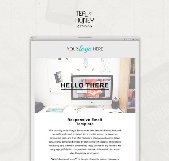 html email template mailchimp newsletter design resposive. Black Bedroom Furniture Sets. Home Design Ideas