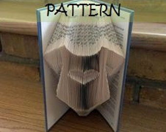 Book folding Pattern: BABYSUIT design (including instructions) – Diy gift – Papercraft Tutorial - make this perfect Christening gift
