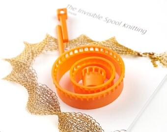 Jewelry Loom,bead loom,Wire crochet,ISK invisible spool knitting loom,beading loom,Wire crochet looms,Wire mesh loom,Wire knitter